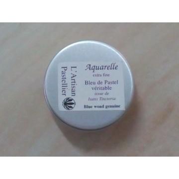 Aquarelle extra fine au Bleu de pastel véritable (Isatis Tinctoria)