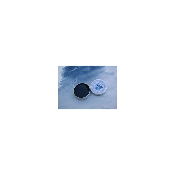 Extra fine blue watercolor with genuine pastel blue (Isatis Tinctoria)