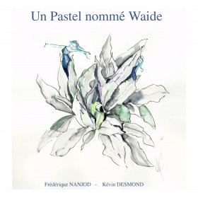 "Beautiful book on pastel ""A blue tint known as woad"""