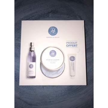 """Cosmetic gift Box with pastel oil """"My Body box"""""""
