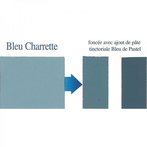 Peinture bleu clair, 100% naturelle, à base de pigment de pastel