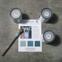 Peinture Bleu Pastel FONCÉ