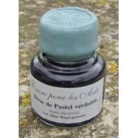 Encre bleue pour les arts, au véritable pastel des teinturiers (Isatis Tinctoria)